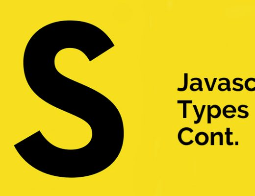 Javascript Types Cont.
