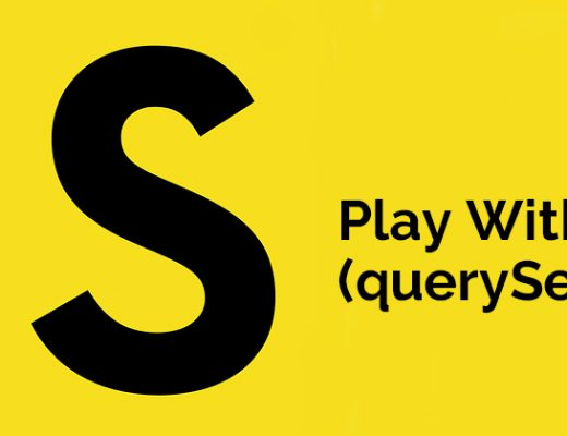 Play With DOM (querySelector)