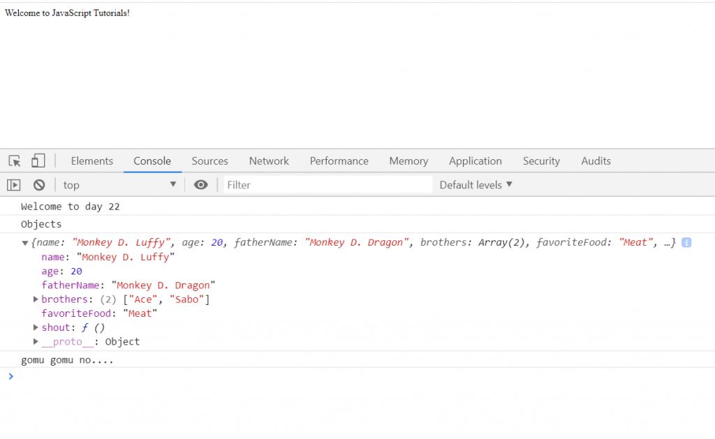 Object - JavaScript Series - Part 22 | Nerdjfpb Writings