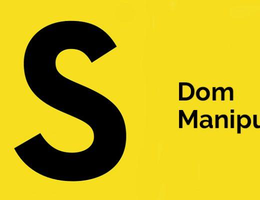 Dom Manipulation